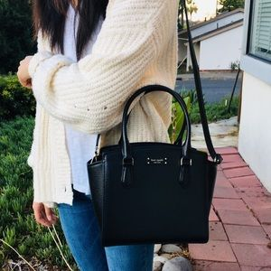 kate spade Bags - Kate Spade black satchel